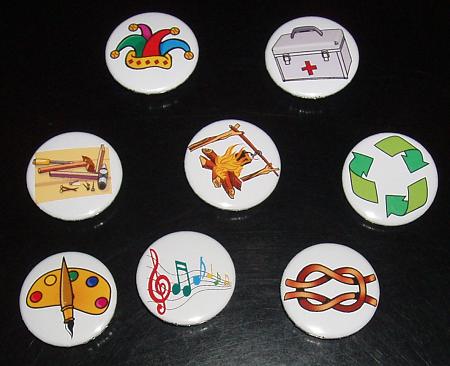 insignias de especialidad scout