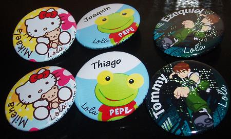Souvenirs personalizados para cumpleaños con el Sapo Pepe, Ben 10 ...