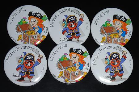 Prendedores de piratas | CreativArea